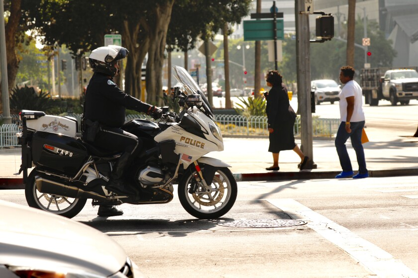 The LAPD has increased patrols each morning and afternoon in the Civic Center area after government employees raised concerns about safety entering and leaving work.