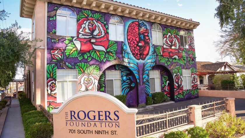 "Look for the mural called ""Wall of Understanding"" on the site of the Rogers Foundation's building at 9th Street and Garces. It urges people to be accepting of all those who live in the U.S."