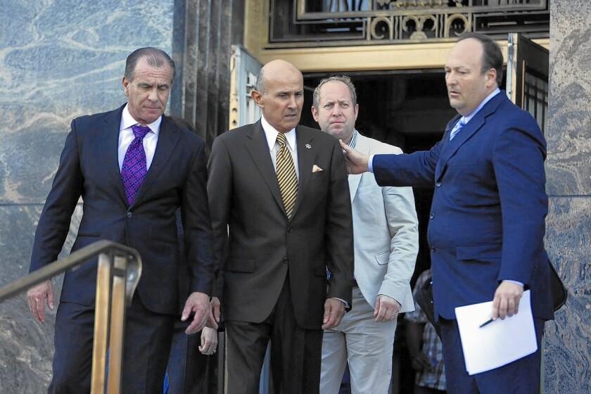 Former L.A. Sheriff Lee Baca pleads guilty