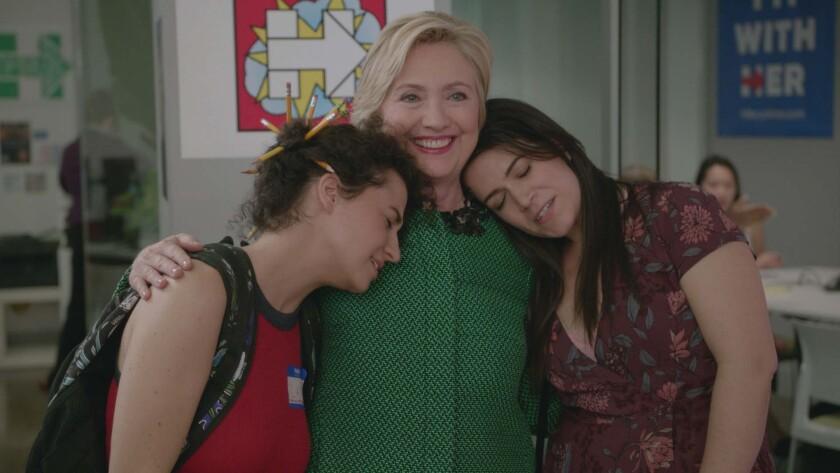 """Hillary Clinton visits """"Broad City"""""""