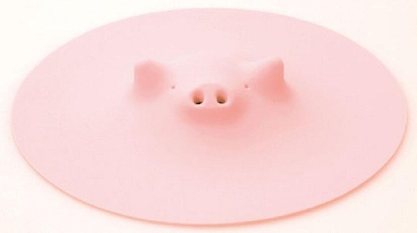 This little piggy snorts steam