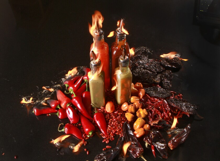 Hot sauce expo