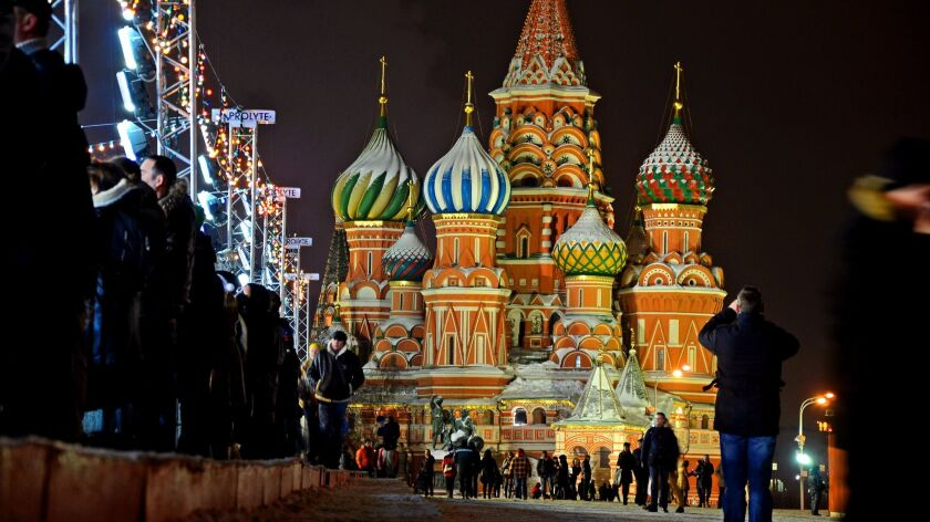 Red Square in Moscow in 2013