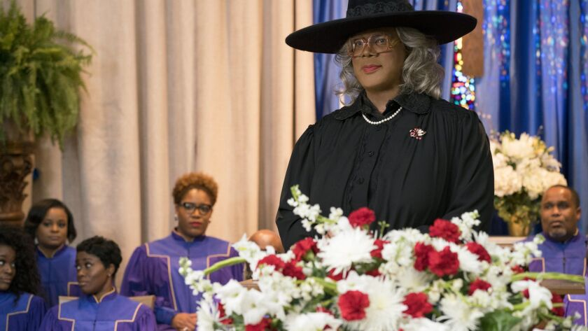Tyler Perry stars as 'Madea' in A MADEA FAMILY FUNERAL. Credit: Chip Bergman/Lionsgate