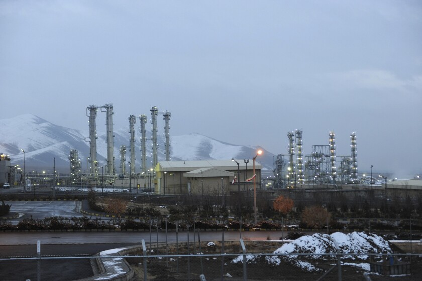 Iranian nuclear facility in 2011