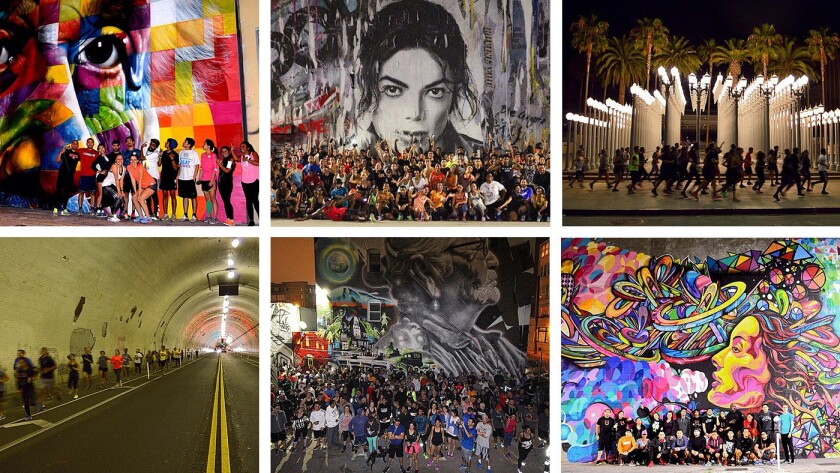 #BlacklistLA: They run for the love of art, and L.A.