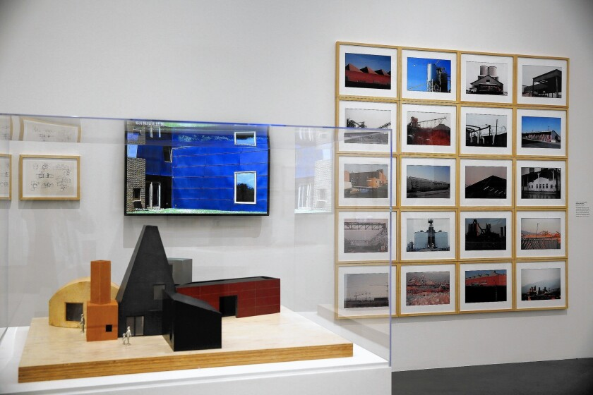 """The """"Frank Gehry"""" exhibition at LACMA presents an examination of the architect's work from the early 1960s to the present."""