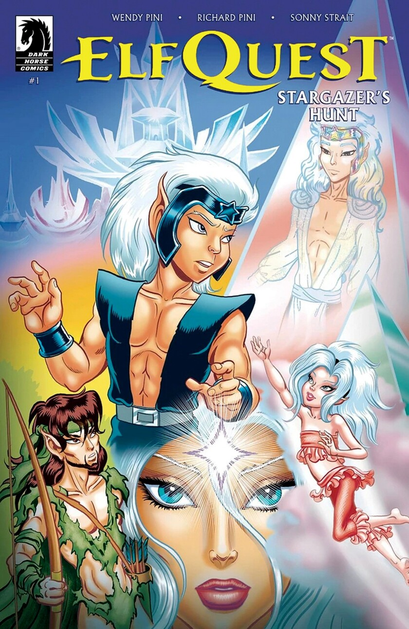 """Richard and Wendy Pini, who created """"ElfQuest"""" 40 years ago, will appear at San Diego Comic Fest."""