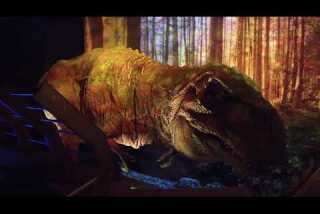 'Jurassic World: The Exhibition' at the Franklin Institute