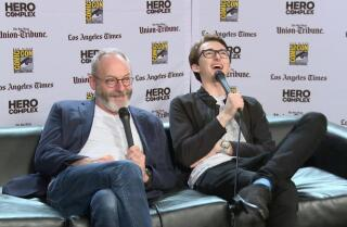 Liam Cunningham and Isaac Hempstead on finding the humor in 'Game of Thrones'