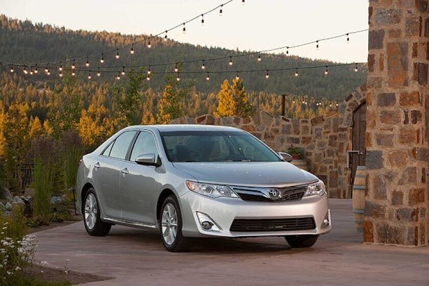 2012 Toyota Camry Review Los Angeles Times