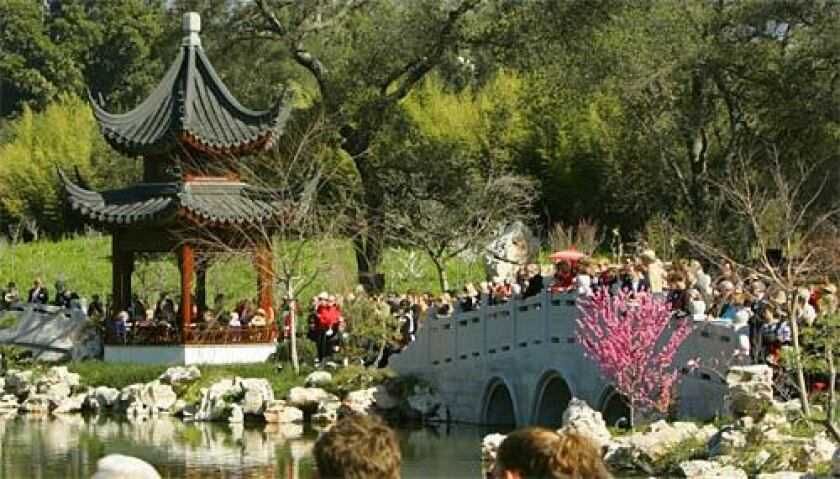 Huntington Library's Chinese garden