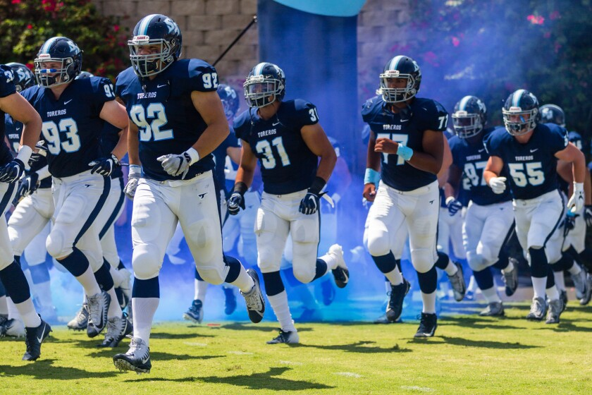 USD opens the season Aug. 31 at Cal Poly.