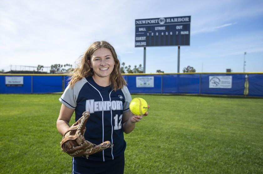 Newport Harbor's Eliana Gottlieb is the Daily Pilot High School Female Athlete of the Week.