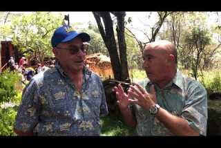 Talking prep basketball and giraffes in Africa