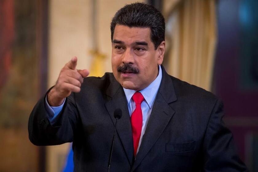 El Departamento de Estado reiteró hoy su apoyo a la decisión de Perú de excluir al presidente de Venezuela, Nicolás Maduro, de la próxima Cumbre de las Américas, a pesar de las insistencias del mandatario, que asegura que acudirá a la cita regional en Lima el 13 y 14 de abril. EFE/ARCHIVO