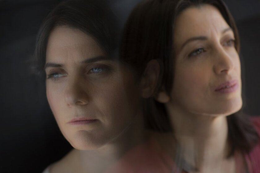 Moira Demos, left, and Laura Ricciardi