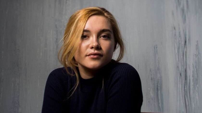 """PARK CITY,UTAH --FRIDAY, JANUARY 20, 2017-- Actress Florence Pugh, from the film, """"Lady MacBeth,"""" ph"""