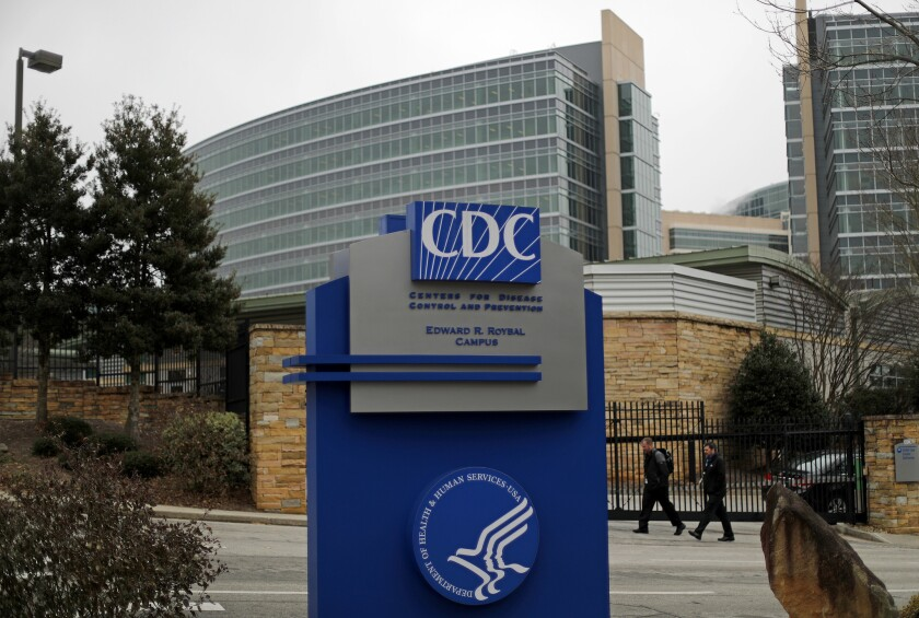 The Centers for Disease Control and Prevention on Jan. 22, 2018. A rising official in the agency disappeared Feb. 12 and hasn't been seen since.