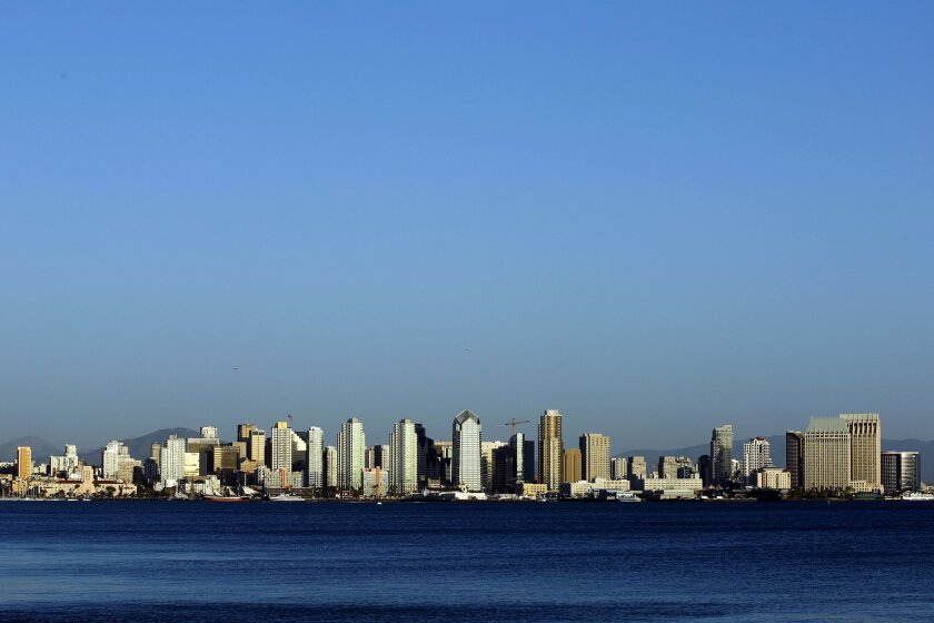 San Diego Tourism Authority says lagging hotel occupancy is due to absence of TV advertising promoting the city.