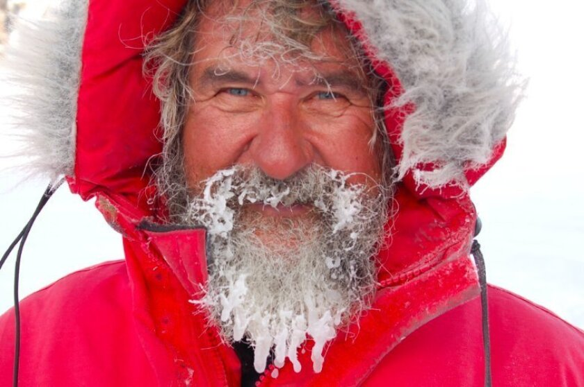 Scripps Institution of Oceanography researcher Hubert Staudigel has faced breathtaking beauty and real danger during his expeditions to Antarctica.