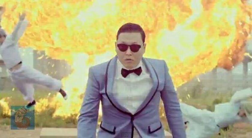 """Psy in """"Gangnam Style."""""""