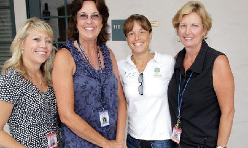 Laura Miller, Marsha Portugal, Lynn Frank, Beth McManus