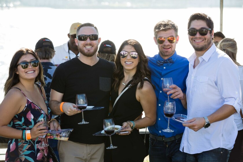 San Diego Bay Wine + Food Festival.