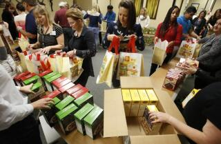 32nd year of San Diego VA's Care and Share gift bags for needy veterans