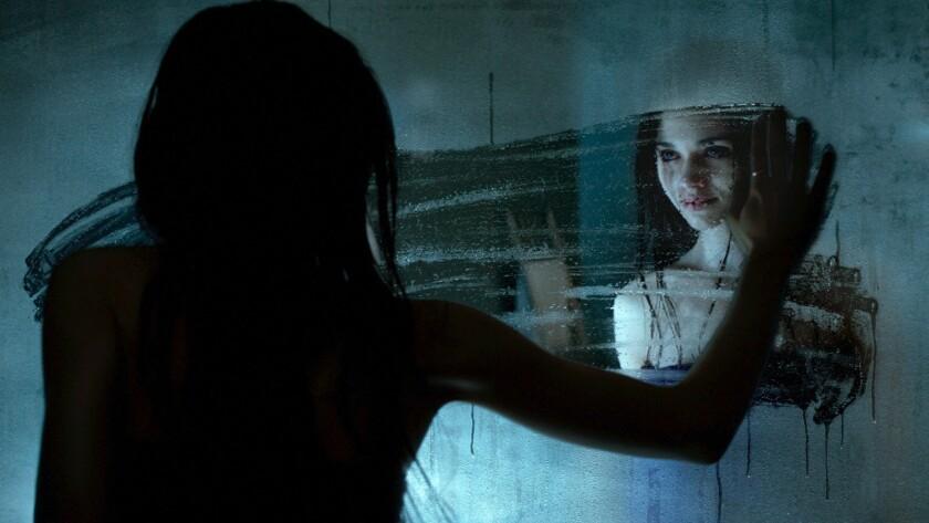 "India Eisley in the movie ""Look Away."""