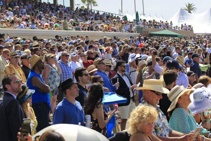 Opening Day at  Del Mar Racing