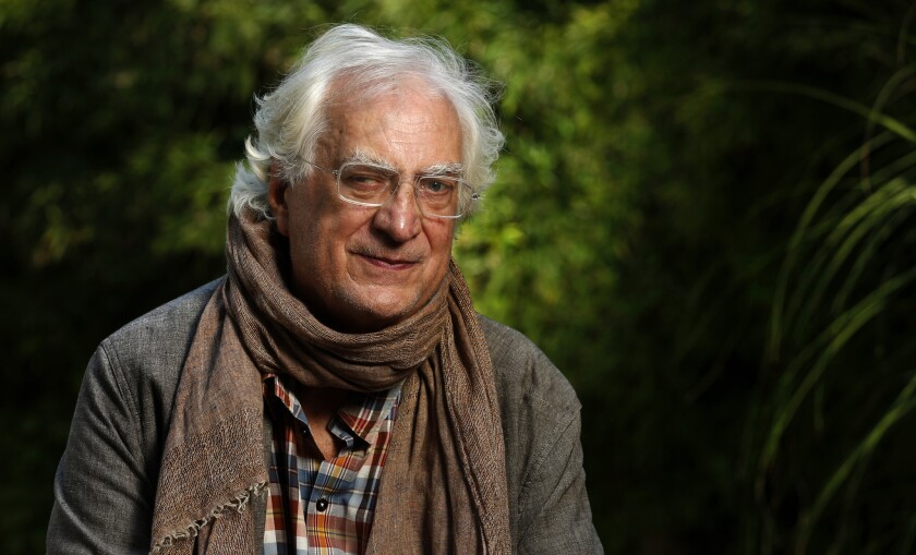 LOS ANGELES, CA-AUGUST 25, 2016: French filmmaker/historian Bertrand Tavernier, is photographed in