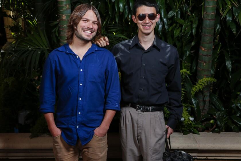 Alan Hicks and Justin Kauflin