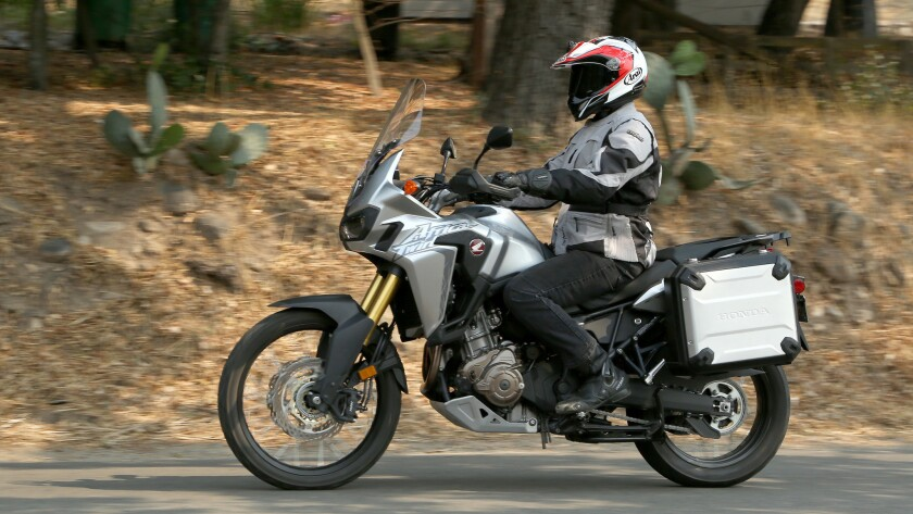 """Honda has jumped into the """"adventure"""" riding segment with its new Africa Twin, a very capable dual sport motorcycle."""