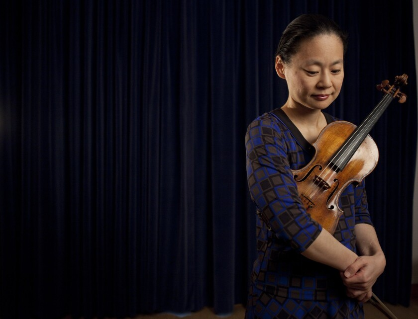 Classical music in L.A. this week: Midori plays Beethoven and more