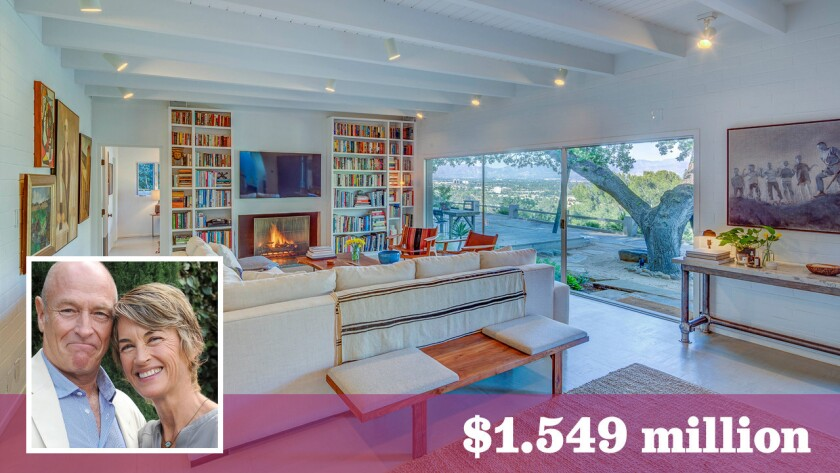Actors and serial home flippers Corbin Bernsen and Amanda Pays have put their latest project in Sherman Oaks up for sale at $1.549 million.