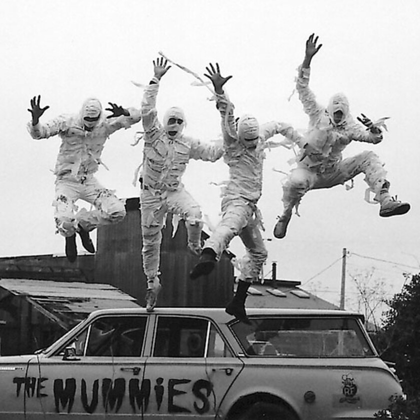 The Mummies are scheduled to play their first local show in 26 years Friday at Pickwick Gardens in Burbank.