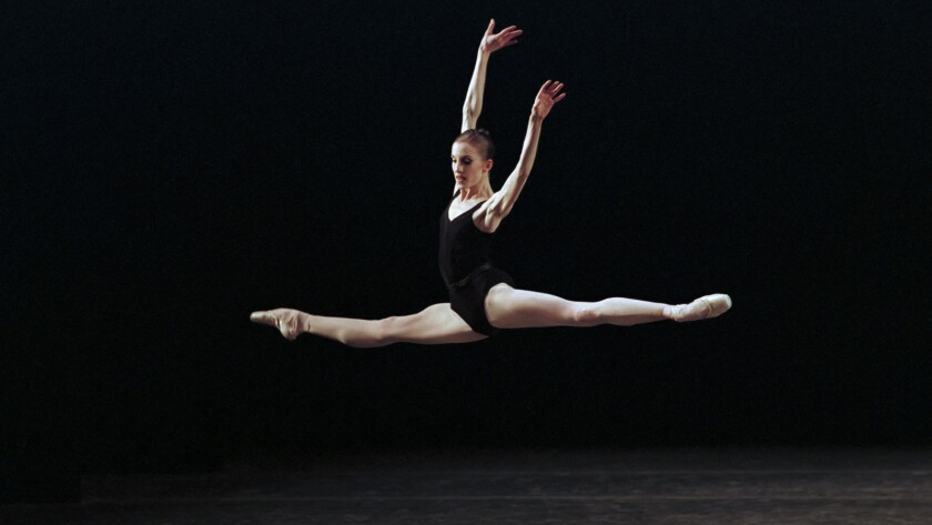 """Wendy Whelan performs """"Agon"""" with New York City Ballet in 2013 in the documentary """"Restless Creature: Wendy Whelan."""""""
