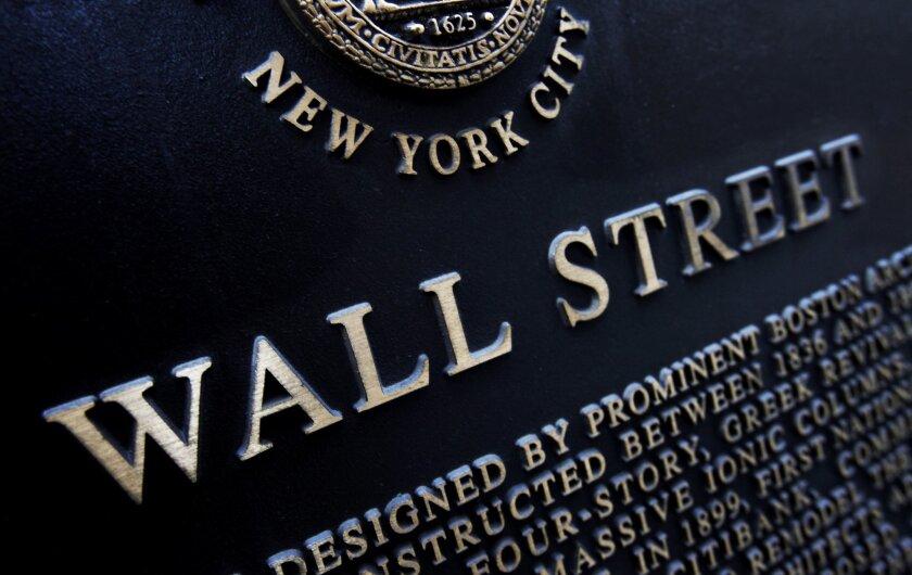 APphoto_Financial Markets Wall Street