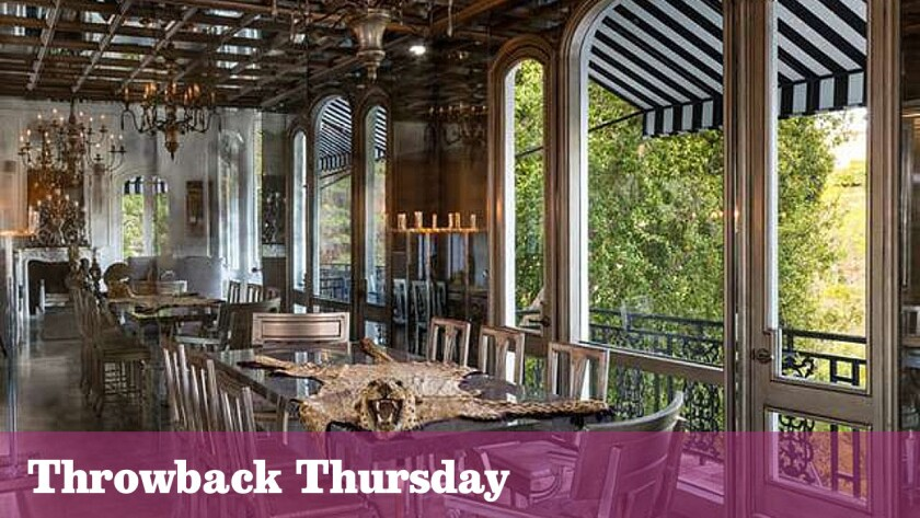 The storied Hollywood Hills residence has ties to actor Errol Flynn, architect John Elgin Woolf and DJ and musician Moby.