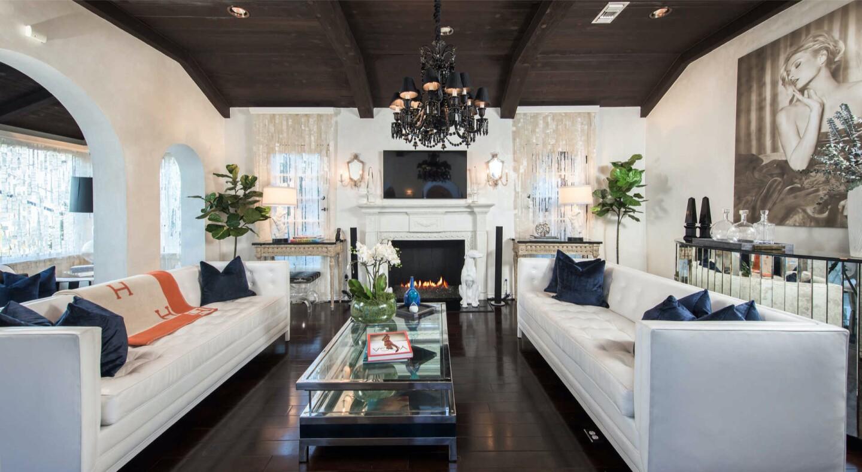Paris Hilton's former Hollywood Hills home