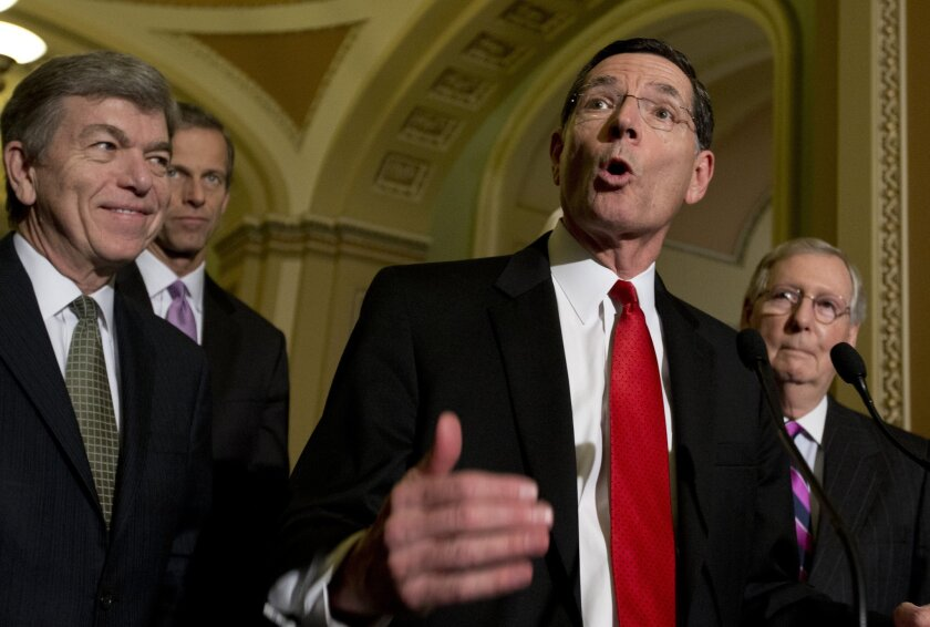 Sen. John Barrasso, R-Wy.: big on Obamacare hate, not so big on protecting his voters' interests.