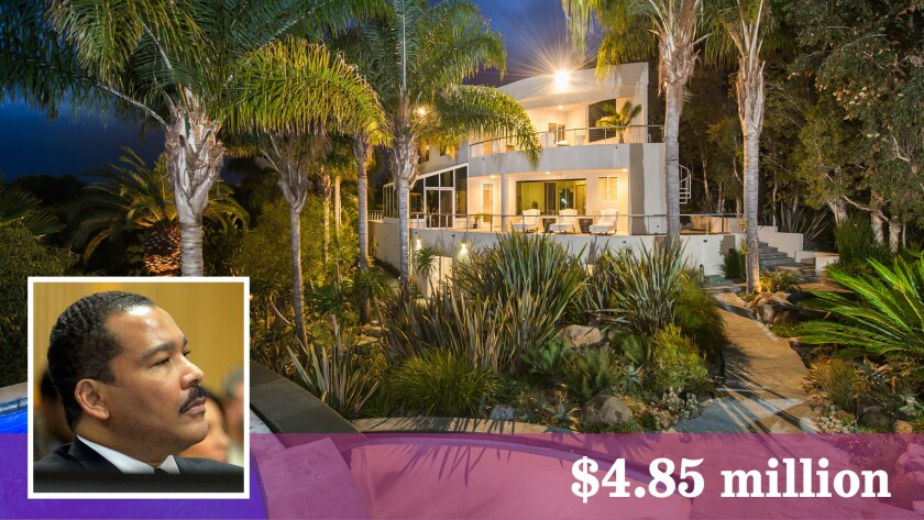 Dexter Scott King, the second son of Martin Luther King Jr., has listed a Malibu house for sale at $4.85 million.