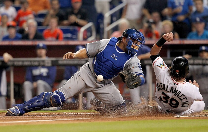 The Dodgers announced the release of Miguel Olivo on Thursday, just days after an incident between the catcher and Alex Guerrero which resulted in the loss of part of the infielder's ear.