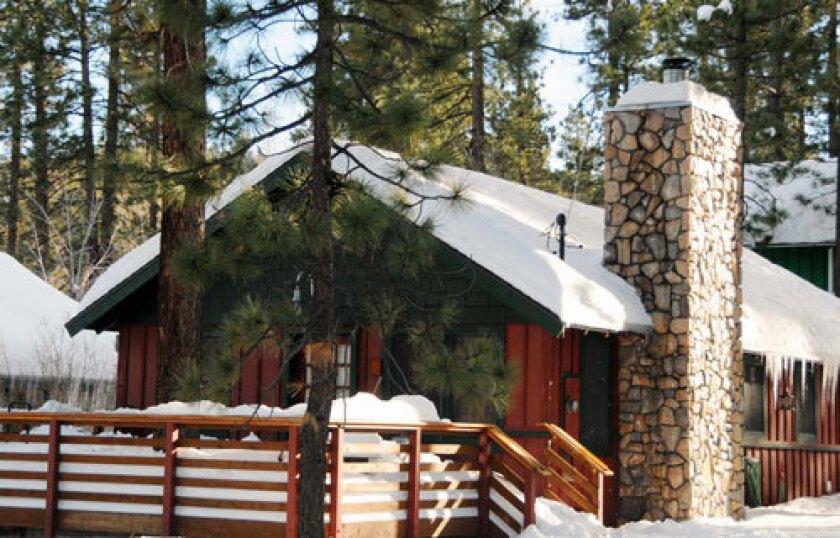 Fellman Big Bear cabin 1