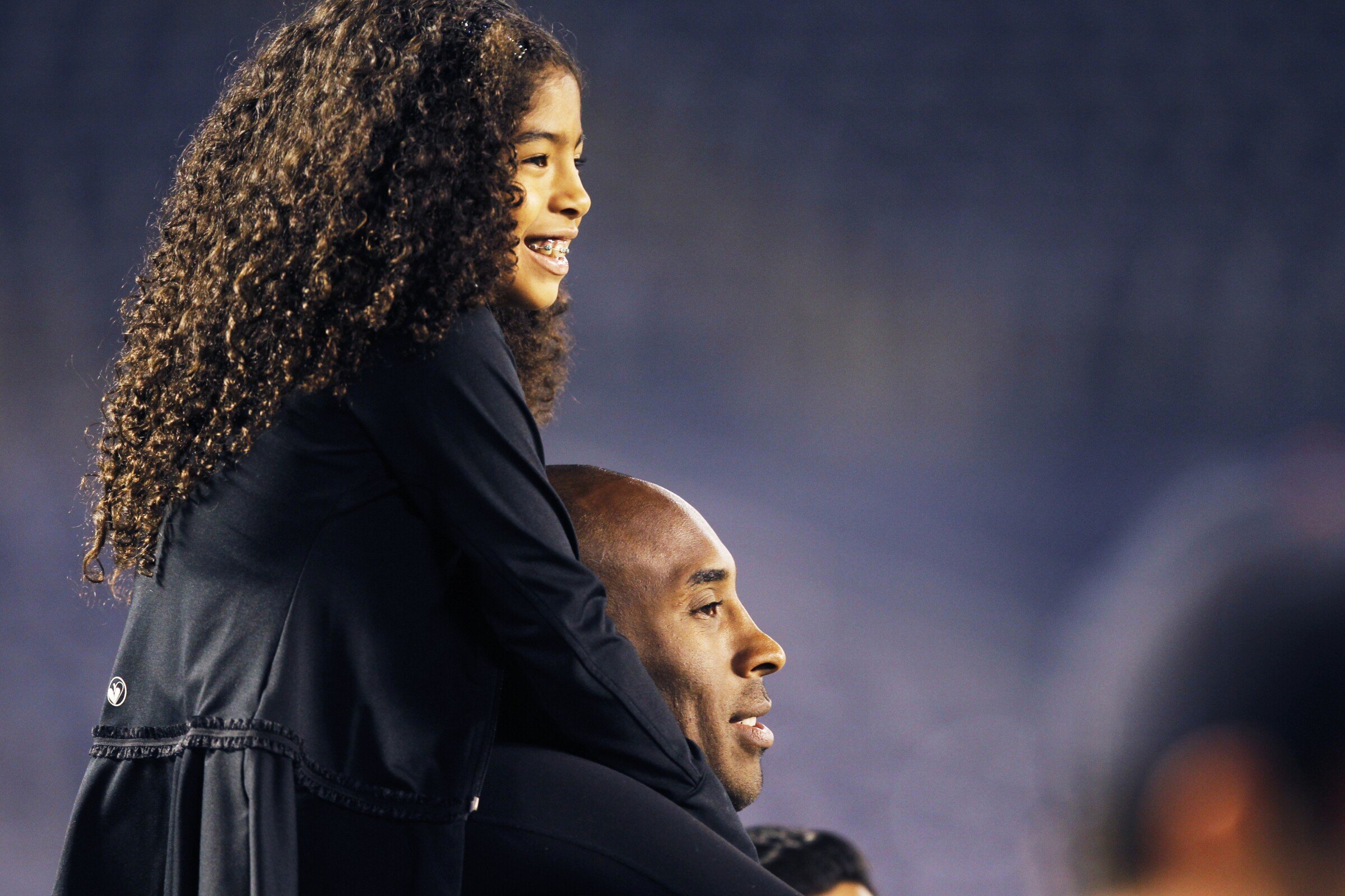 Kobe Bryant and his daughter Gianna Maria-Onore Bryant