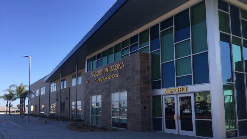 The newest school in the Chula Vista Elementary School District, Saburo Muraoka Elementary, opens to