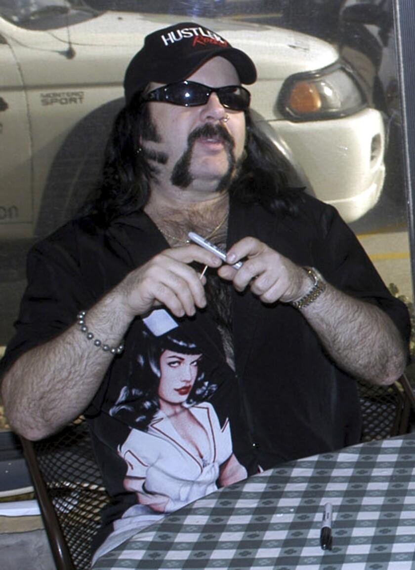 Vinnie Paul Abbott is seen in Amarillo, Texas on May 20, 2004.
