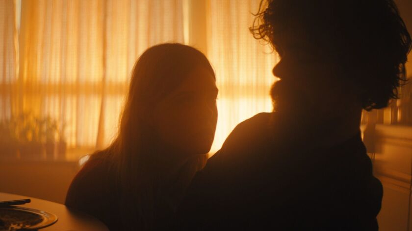 """Elle Fanning and Peter Dinklage are seen in """"I Think We're Alone Now,"""" directed by Reed Morano. It's an official selection of the U.S. Dramatic Competition at the 2018 Sundance Film Festival."""