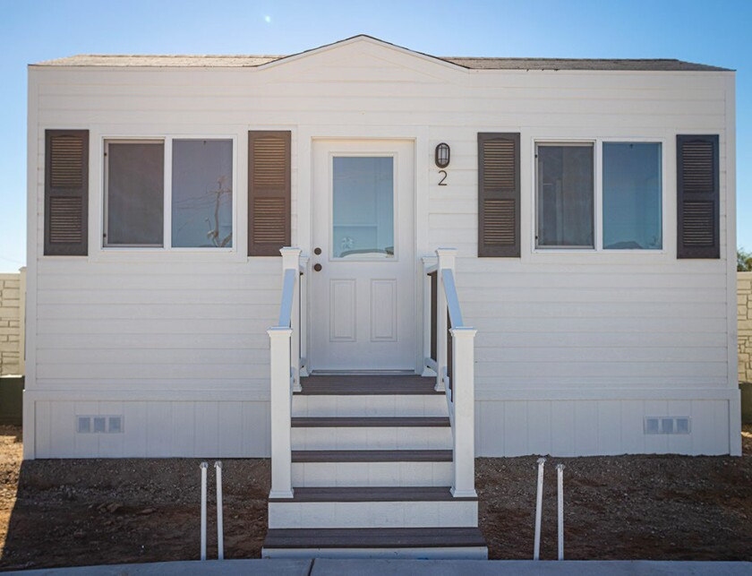 Tiny homes are one example of the types of housing that could be considered for homeless shelters in the county.